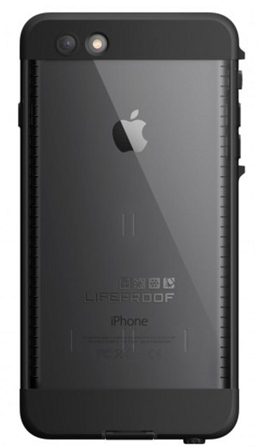 Lifeproof iPhone 6+ nuud futteral - svart