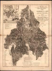 Bilde av Kart over Agershuus Amt