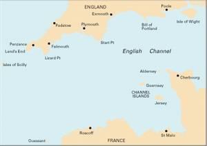 Bilde av C10: Western English Channel Passage Chart